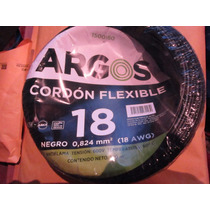 Cable Calibre 18 Flexible , 100 Metros Rollo