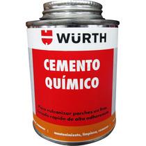 Cemento Químico Para Vulcanizar Parches En Llantas Wurth