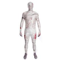 Mummy Costume - Morphsuit Niños Childs L Horror Zombie