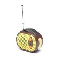 Radio Viaje - Mini Roja Portátil Retro Fm Música Auto