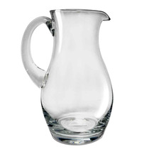 Jarra Vidrio Cristal Soplado Agua 1.3 Litros Prinz