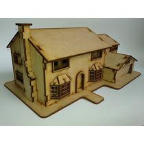 Casa Simpson Mdf Rompecabezas 3d