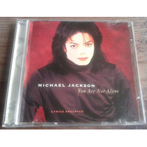 Michael Jackson You Are Not Alone Cd Letra D Cancion Impresa