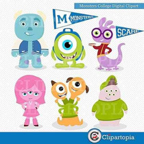 Kit Imprimible Monsters University Imagenes Clipart