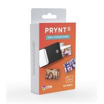 Paquete Papel Prynt 2x3 Zink Calcomania 50 Hojas - Blanco
