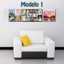 Cuadros Foto Collage Decorativos Para Hogar Dia Madre Padre