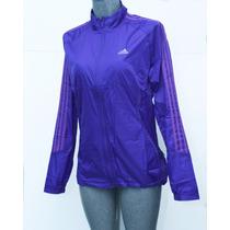Chamarra Rompevientos Adidas Running Para Dama, Frío-lluvia