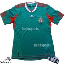 Jersey Mexico Mundial Sudafrica 2010 Playera Adidas Original