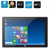 Tablet Pc Windows 10 + Android 5.1-10.1 Pulgadas 64gb 4 Ram