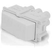 Interruptor Sencillo De 3 Vias Color Blanco Voltech 48137