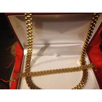 Cadena Y Esclava Rolex Oro Envio Gratis