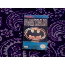 Batman Caja E Instructivo Nintendo Nes