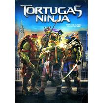 Dvd Tortugas Ninja ( Teenage Mutant Ninja Turtles ) 2014 - J