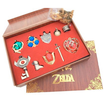Collar The Legend Of Zelda Set Link Dije Corazon Accesorios