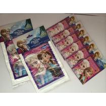 Frozen Princesas Paquete 36invitaciones Y 50bolsas Dulces