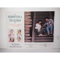 Hector Bonilla, Serpientes Y Escaleras, Cartel De Cine