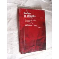 Libro Noche De Pesadilla , Antologia De Relatos De Terror ,
