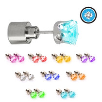 Aretes Led Luminosos Mujer Fiesta Light Innovadores
