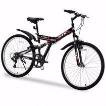 Bicicleta Plegable De Montaña R26 Shimano 7vel Meses Sin Int