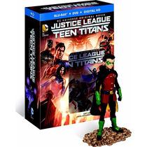 Liga De La Justicia Y Jovenes Titanes Union Accion Bd+ Dvd