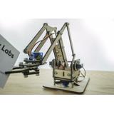 Kit Brazo Robot Programable Con Joystick + Dispensador
