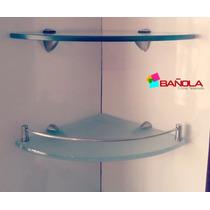 Repisas O Entrepaños De Vidrio 10mm Ideales Para Decoración