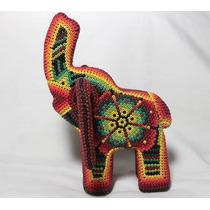 Elefante De Chaquira, Arte Huichol