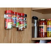 Spicestor Organizador Rack De 20 Gabinete Puerta Especia Cli
