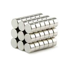 Iman Neodimio 10 Piezas Circular 5mm X 3mm N50 14,500 Gauss