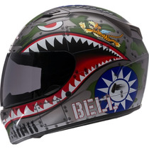 Casco Para Moto Bell Flying Tiger Control De Temperatura