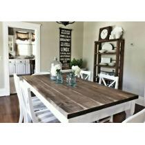 Mesa Comedor Para 6 Estilo Vintage Rustico