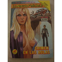 La Novela Policiaca - Crimen En La Aulas