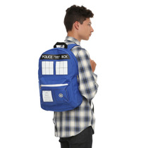 Mochila Back Pack Doctor Dr Who Tardis Police Box