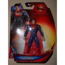 Sgg Superman 2013 Traje Azul Y Capa Roja 3 3/4 C9 Dc Maa