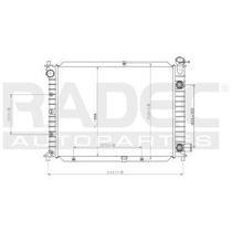 Radiador Ford Escort 1994-1995-1996 L4 1.8/2.0lts S/aire Aut