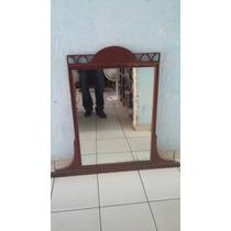 Espejo Antiguo De Caoba