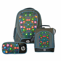 Kit Hp Backpack Lonchera Y Lapicera (j1a83la)
