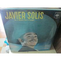 Javier Solis Lp Con Mariachi Perla De Occidente Nuevo ---