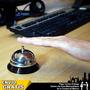 Timbre Hotel Maestro Mostrador Recepción Mesa Call Bell