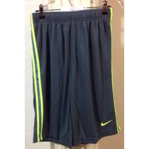 Short Nike X L Gris Y Azul Soccer Training Futbol Deportivo