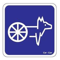 Car-can Silla De Ruedas Para Perros Arnes Soporte Trasero