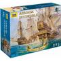 Zvezda Set De Juego Barcos Armada Invencible Armar Pintar
