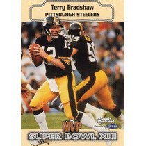 1999 Sports Illustraded Sb Xiii Mvp Terry Bradshaw Steelers