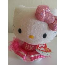 Hermoso Peluche De Hello Kitty Marca Ty Porrista!