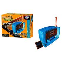 Kit Científico Radio Fm Solar 5.5x21x7cm 17 Piezas 7+ Ideas