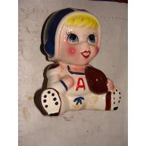 Alcancia Ceramica De Jugador De Futbol Americano