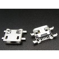 25 Piezas Conector Micro Usb 5 Pines 4 Terminales