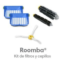 Kit De Filtros Y Cepillos Irobot Roomba Serie 600