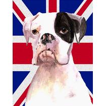 Boxer Con Cooper Inglés Union Jack Británica Bandera De La