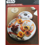 Star Wars Bb-8 Serving Platter - Charola Para Servir